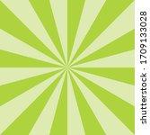 green sunburst spring art...   Shutterstock .eps vector #1709133028