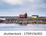 Bonavista fishing village coast, Newfoundland, Canada in summer