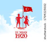 holiday banner illustration of...   Shutterstock .eps vector #1709225032