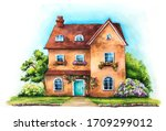 Traditional English House On An ...