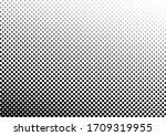 fade dots background. gradient... | Shutterstock .eps vector #1709319955