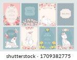 banner for invitation scrapbook....   Shutterstock .eps vector #1709382775