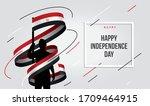 egypt egyptian flag standing... | Shutterstock .eps vector #1709464915