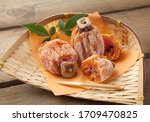 Dried Persimmon. Japanese Dried ...