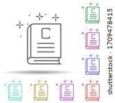 book copywriting multi color...
