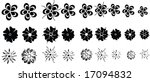 vector flowers | Shutterstock .eps vector #17094832