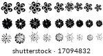 vector flowers | Shutterstock .eps vector #17094832