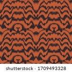seamless floral pattern folk...   Shutterstock .eps vector #1709493328