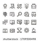 education study learning...   Shutterstock .eps vector #1709500498