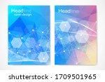 vector templates for brochure... | Shutterstock .eps vector #1709501965