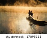 Early Morning Fishing In Autumn ...
