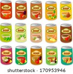 vector illustration of various... | Shutterstock .eps vector #170953946