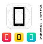 phone screen icon. vector...