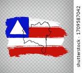 Flag Of Bahia From Brush...