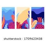 set of social media stories... | Shutterstock .eps vector #1709623438