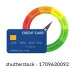 indicators scale estimation of... | Shutterstock .eps vector #1709630092