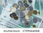 polish currency   Shutterstock . vector #1709666068