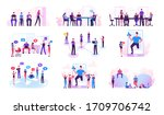 set of male and female... | Shutterstock .eps vector #1709706742