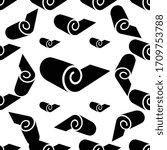 roll icon seamless pattern  mat ... | Shutterstock .eps vector #1709753788