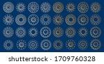 arabesque design   3d ramadan... | Shutterstock .eps vector #1709760328