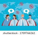 group health professionals...   Shutterstock .eps vector #1709766262