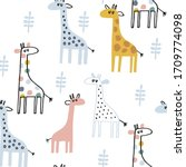 Baby Seamless Vector Pattern....