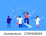 vector illustration in flat...   Shutterstock .eps vector #1709908405