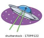 vector illustration of an alien ...