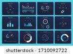 big set of infographics...   Shutterstock .eps vector #1710092722
