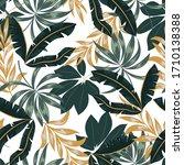 original seamless tropical... | Shutterstock .eps vector #1710138388