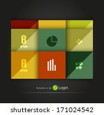 glossy squares option...   Shutterstock .eps vector #171024542