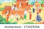 nakhon ratchasima  thailand  ... | Shutterstock . vector #171025346