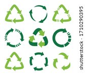 recycling symbol of... | Shutterstock .eps vector #1710290395