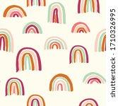 vector seamless repeat pattern... | Shutterstock .eps vector #1710326995
