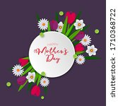 happy mother's day  paper cut... | Shutterstock .eps vector #1710368722