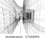 abstract architecture | Shutterstock . vector #17103691