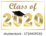 graduate hat  confederate on... | Shutterstock .eps vector #1710429232