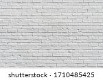 White Painted Brick Wall For ...