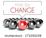 Time For Change Business Uniqu...