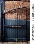 A Rustic Door On Public Walking ...