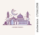 vector illustration for the... | Shutterstock .eps vector #1710612508