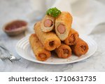 Sausages And Cheese French...