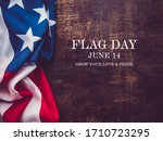 flag day. beautiful greeting... | Shutterstock . vector #1710723295