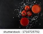 Fresh Tomato Juice With Pulp ...