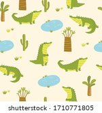 vector tropical pattern with... | Shutterstock .eps vector #1710771805