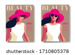 two variants of fashion... | Shutterstock .eps vector #1710805378
