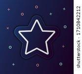 five pointed star nolan button...