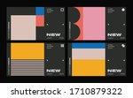 new modernism aesthetics in... | Shutterstock .eps vector #1710879322