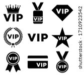 vip icon  isolated logo on a...   Shutterstock .eps vector #1710923542