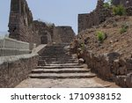 Golconda Fort Ruins Contrastin...
